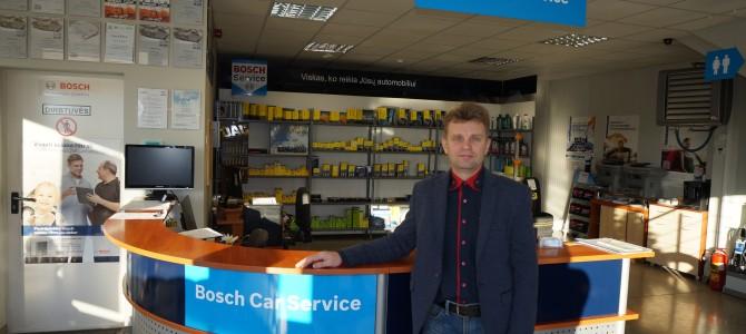 "Pokalbis su Alytaus ""Bosch Automobilių Servisas"" direktoriumi dr. Ryčiu Zautra"