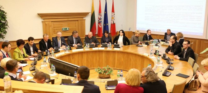 Miesto tarybos posėdis