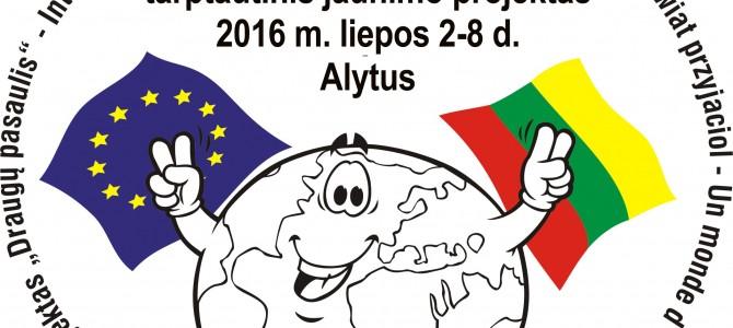 """Alytuje Europos šalių jaunimą suburs """"Draugų pasaulis"""""""