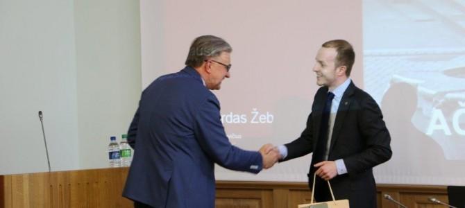 Savivaldybėje – architekto prof. A. Žebrausko paskaita apie miesto tapatybės formavimą, problemas ir iššūkius