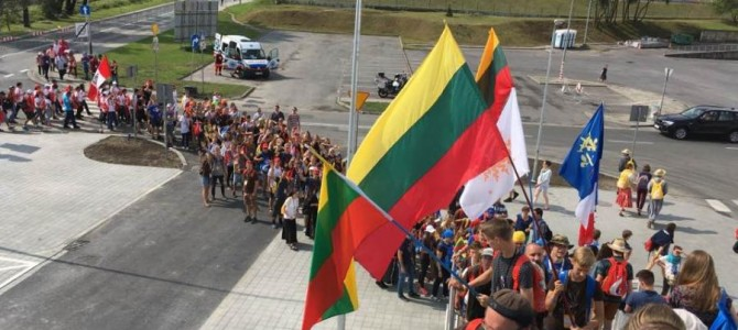PJD Krokuvoje: 1400 jaunimo grupė iš Lietuvos
