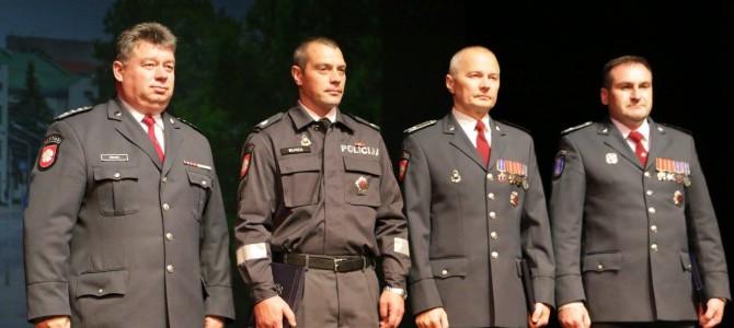 Policijos dienos minėjimas Alytaus teatre