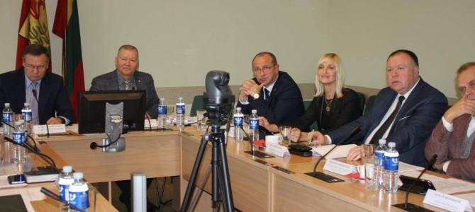 Alytaus regiono plėtros tarybos posėdis
