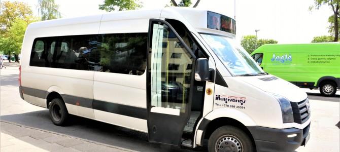 Nuo kovo 1 d. iki ligoninės važiuos daugiau autobusų