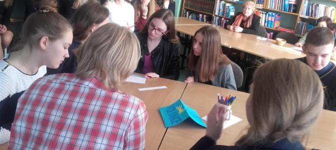 """Šaltinių ir """"Volungės"""" pagrindinių mokyklų bendradarbiavimas tęsiasi"""