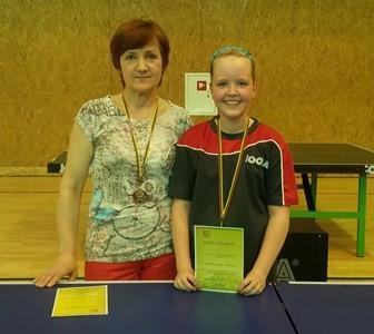 ASRC stalo tenisininkė pateko į Europos čempionatą ir Lietuvos mini jaunučių rinktinę