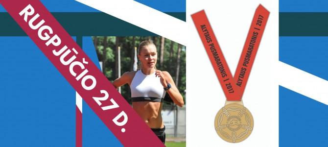 Bėgikų krūtines puoš įspūdingo dizaino medaliai