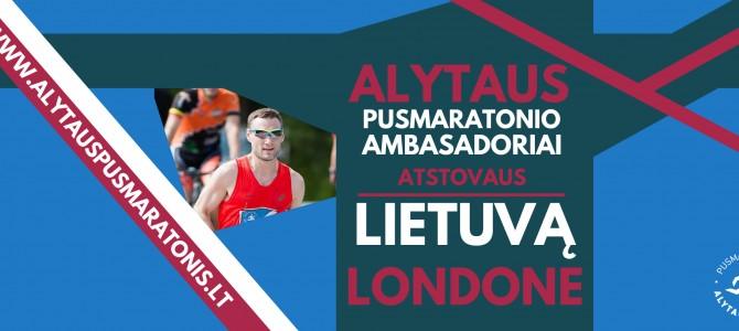 Pusmaratonio ambasadoriai atstovaus Lietuvą Pasaulio čempionate Londone