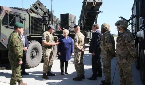 """NATO pratybose Lietuvoje išbandytos """"Patriot"""" sistemos"""