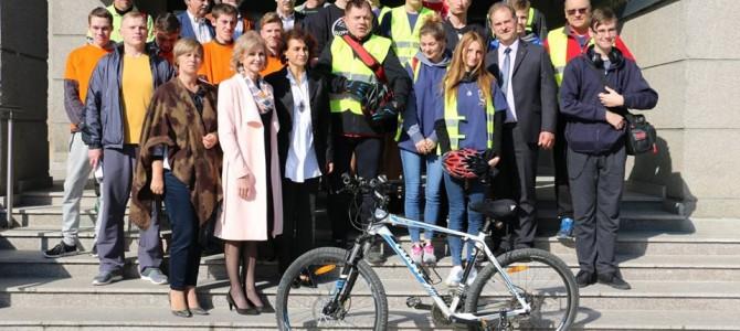 Į Alytų dviračiais iš Lenkijos