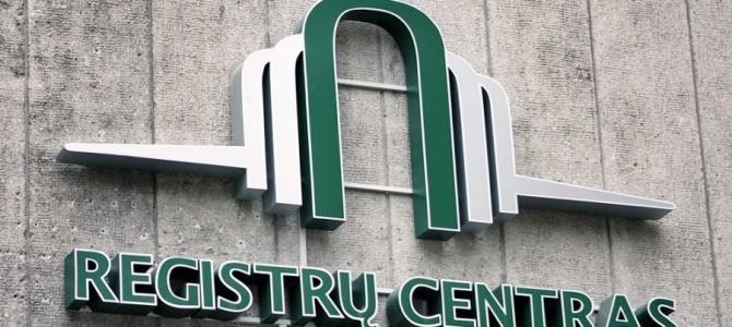 Nuo lapkričio Registrų centrui turės būti teikiama informacija  apie viešųjų įstaigų dalininkus