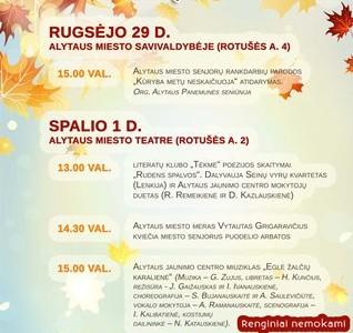 Alytaus miesto savivaldybės meras V. Grigaravičius kviečia senjorus puodelio arbatos