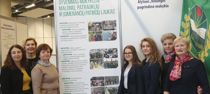 """Alytaus """"Volungės"""" pagrindinės mokyklos patirtys parodoje """"Mokykla 2017"""" Lietuvos parodų ir kongresų centre """"Litexpo"""""""