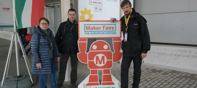 Į stažuotę tarptautinėje konferencijoje-parodoje MAKER FAIRE vyko Alytaus Panemunės pagrindinės mokyklos informacinių technologijų  mokytojas  Žydrūnas Tautvydas