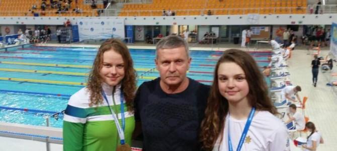 Naujas Lietuvos plaukimo rekordas pasiektas Lenkijoje