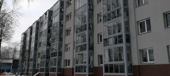 Praėjusiais metais daugiausia daugiabučių atnaujinta Kaune ir Vilniuje