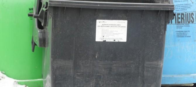 Aikštelėse budint prižiūrėtojams mieste sumažėjo konteinerių ir atliekų