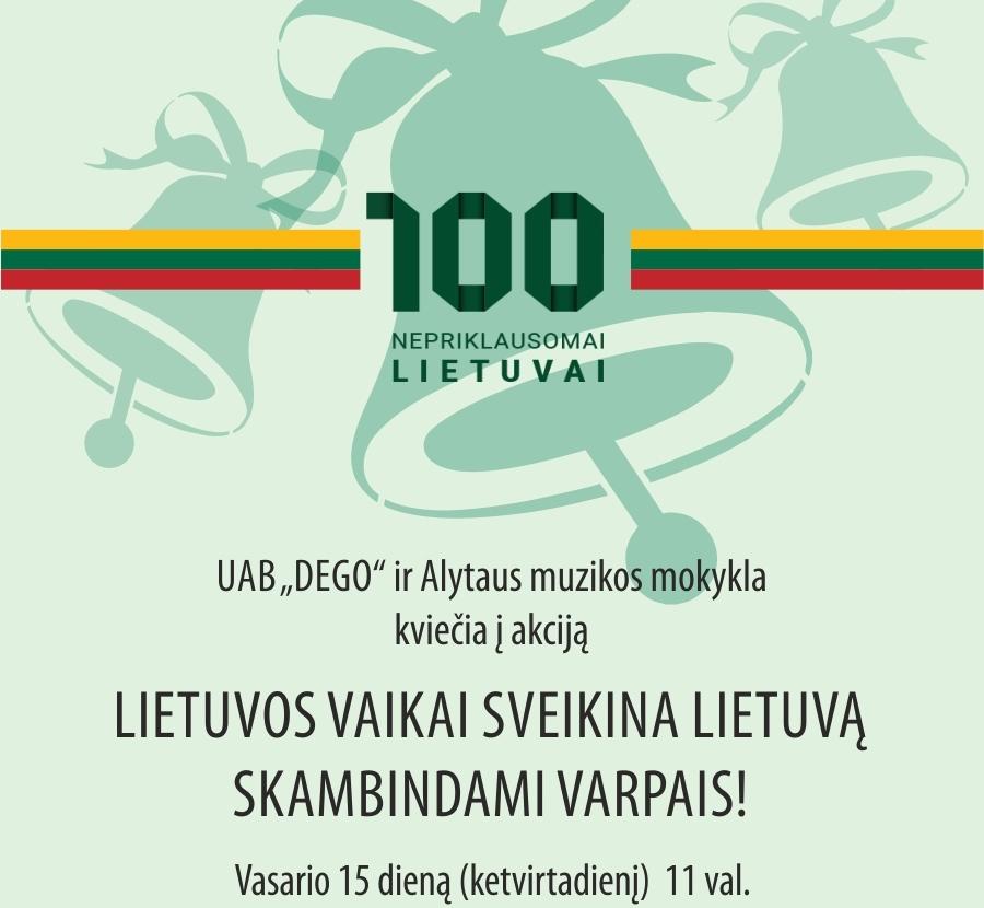 100 METU_varpai Alytuje