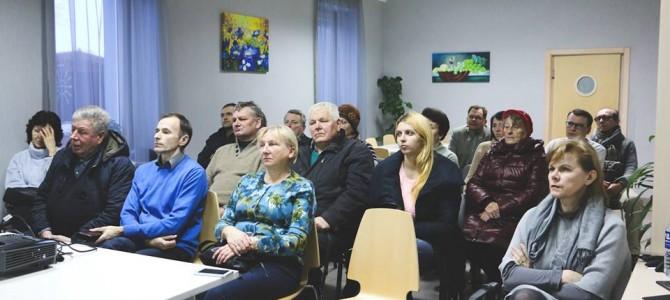 """""""Besipijarinančių""""  politikų susitikimas su gyventojais nesudomino"""