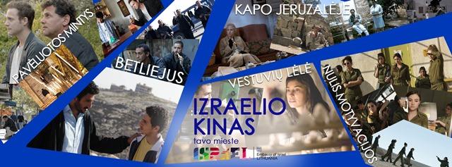 """Alytuje – kino projektas """"Izraelio kinas tavo mieste"""""""