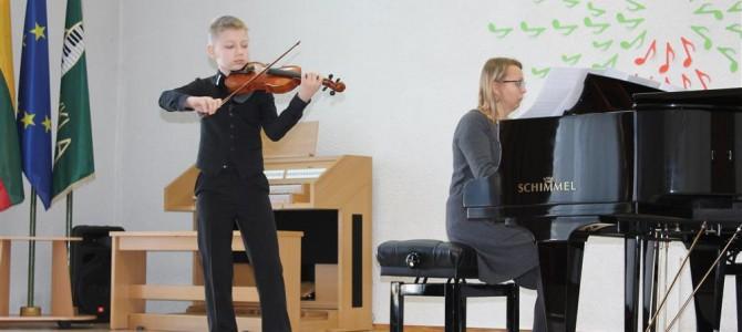 XX Nacionalinio Balio Dvariono pianistų ir stygininkų konkurso Alytaus ir Marijampolės regioninis etapas