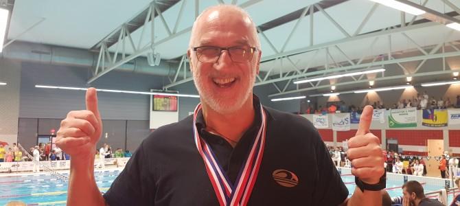 Sėkmingi Alytaus plaukimo veterano startai Europos baseinuose
