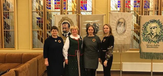 Seime vyko iškilmingas minėjimas, skirtas Lietuvos valstybės atkūrimo 100-mečiu