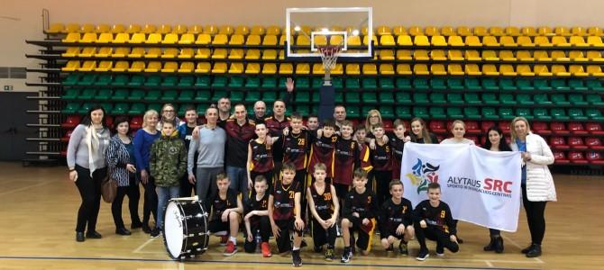 """Alytuje vyko berniukų U12 """"Pirmasis iššūkis"""" krepšinio čempionato antras etapas"""