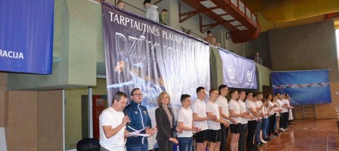 """Šiandien Alytuje prasidėjo tarptautinės plaukimo varžybos """"Dzūkijos taurė 2018"""""""