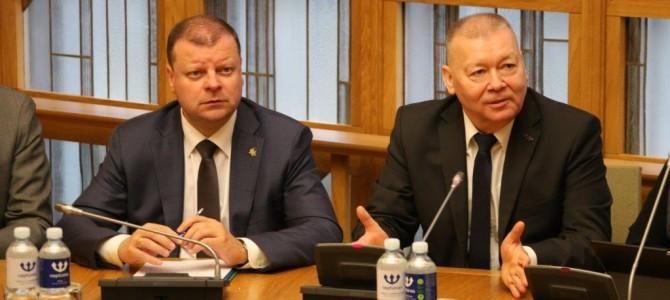 """Ministras Pirmininkas S. Skvernelis: """"Kelio Alytus – Kaunas rekonstrukcijos darbai turėtų būti baigti 2024 m."""""""
