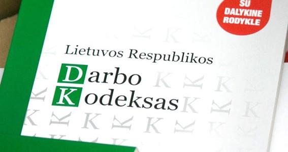 Darbo kodekso pataisos – viešojo sektoriaus skaidrumui