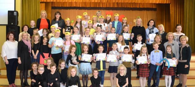 Talentų šventė, skirta Lietuvos nepriklausomybės šimtmečiui, Alytaus Panemunės pagrindinėje mokykloje