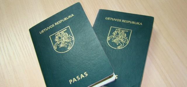 """Nustoja galioti paskutinieji """"žalieji""""  lietuviški pasai"""
