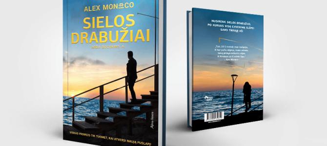 """Kviečiame į susitikimą su Alex Monaco ir jo naujausios knygos """"Sielos drabužiai arba becukris A"""""""
