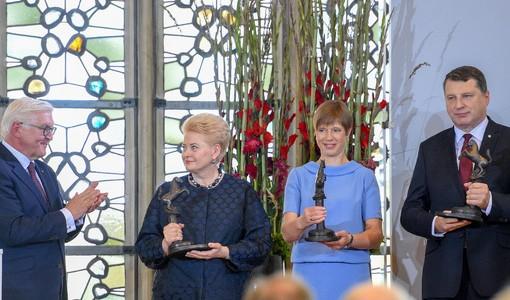 Lietuvai – prestižinė Vestfalijos taikos premija
