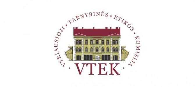 VTEK ir VPT stiprina interesų deklaravimo viešuosiuose pirkimuose kontrolę