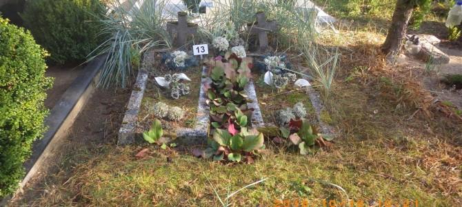 Sudaryti Klevų ir Daugų gatvėse esančiose kapinėse galimai neprižiūrimų kapaviečių sąrašai