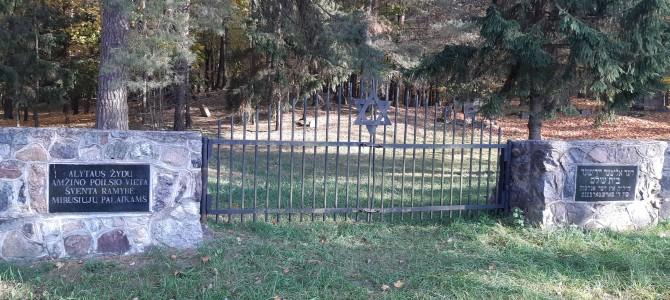 Planuojama tvarkyti senąsias žydų kapines