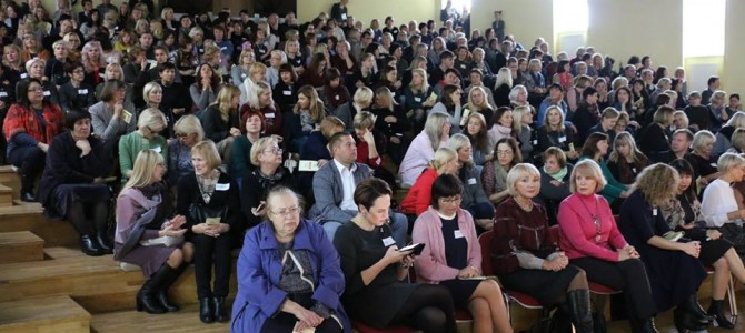 Respublikinė konferencija šv. Benedikto gimnazijoje