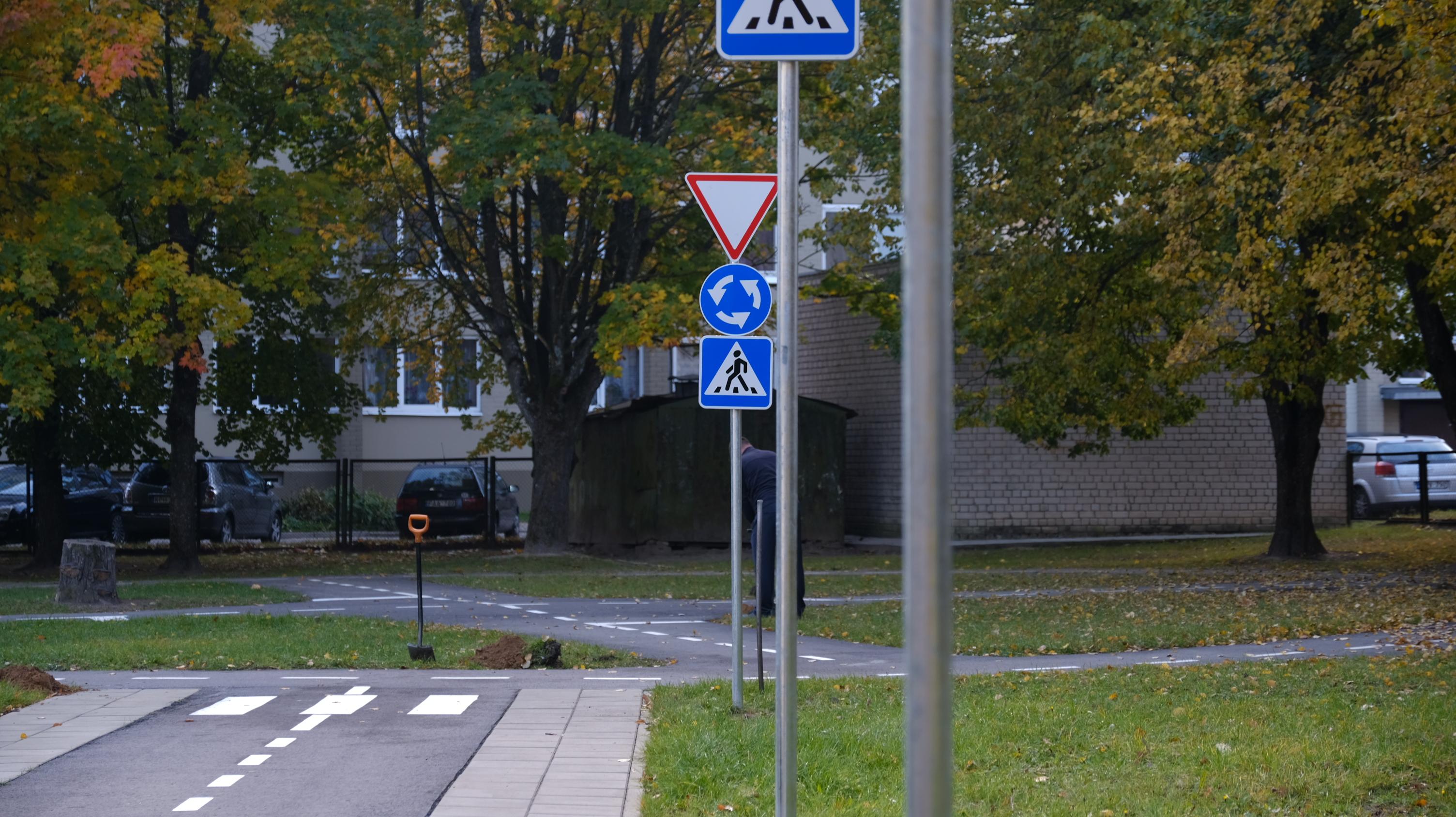 Saugaus eismo aikštelė Saulutės darželyje (AMS VUSR NUOTR (4)