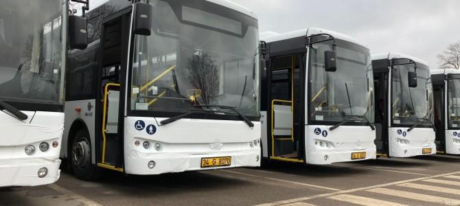 Atvyko nauji Alytaus miestui skirti autobusai