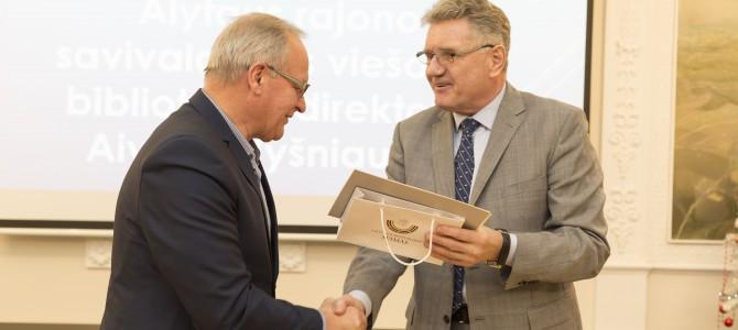 Rajono bibliotekininkai apdovanoti Seimo ir Kultūros ministerijos padėkomis