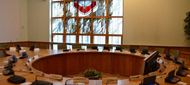 Šiandien vyks miesto 8-osios tarybos 54-asis posėdis