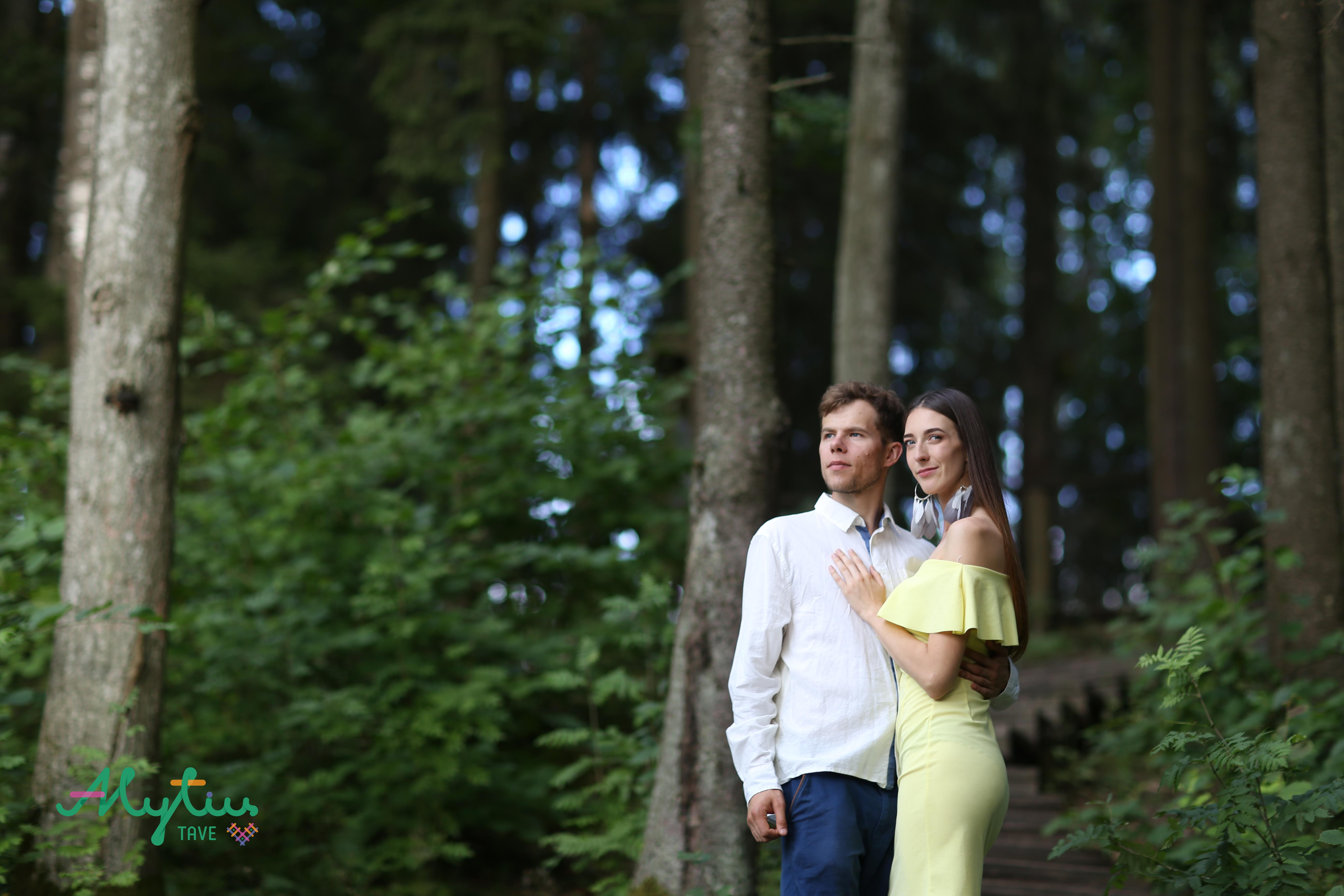 Monika ir Lukas (Asmeninio albumo nuotr.)