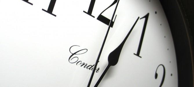 Vargas dėl laiko