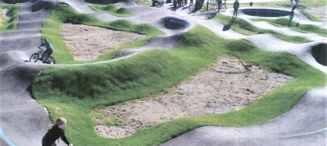 Alytaus jaunimo parke – dvi kalnelių trasos