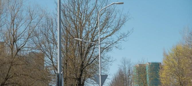 Saugesnis šaligatvis pėstiesiems Statybininkų gatvėje!