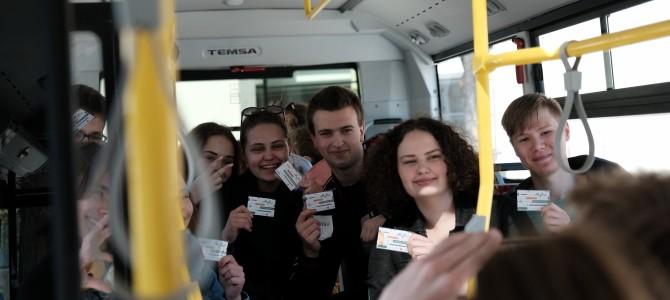 Alytaus viešajame transporte – e. bilietas