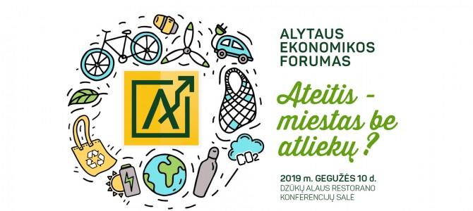 Alytaus ekonomikos forumas – registracija prasidėjo