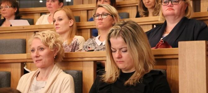 """Alytuje vyko seminaras """"Įtraukusis ugdymas ir vaiko socialinio elgesio gerinimas""""."""